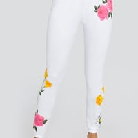 Meadow Flowers Knox Pants - Wildfox