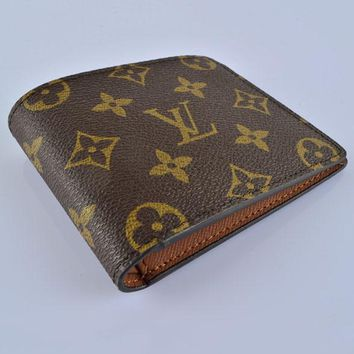 LV Fashion Trending Men Leather Handbag Wallet Purse Bag Coffee LV Print G-MYJSY-BB