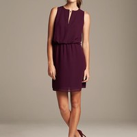 Banana Republic Womens Zip Front Dress