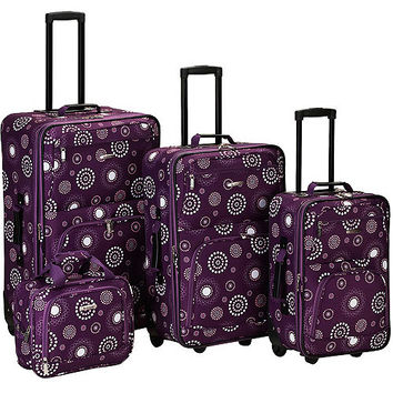 Walmart: Rockland Luggage Impulse 4 Piece Expandable Luggage Set, Multiple Colors