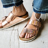 Free People Arizona Metallic Birkenstock