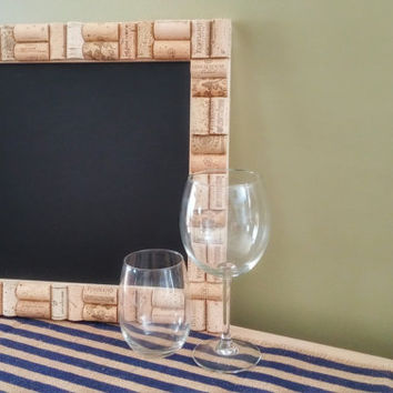 Wine Cork Chalkboard;Chalkboard Sign; Wedding Sign; Wedding Shower sign; Kitchen Decor; Rustic Decor;Chalkboard Sign; Vineyard/Winey Decor