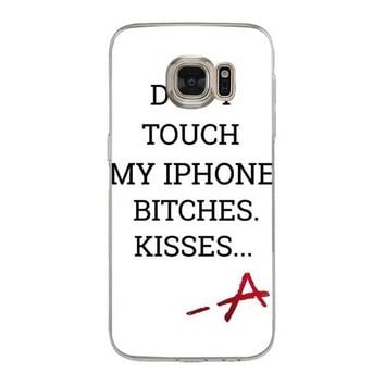 Yinuoda Pretty Little Liars PLL TV Show Cute Phone Accessories Case for samsung galaxy S9 S7 S6 edge plus S5 S9 S8 plus case