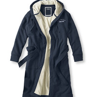 Men's Rugby Robe, Fleece Lined: Sleepwear and Underwear | Free Shipping at L.L.Bean