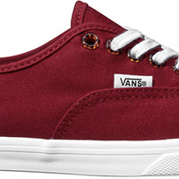 Vans Authentic Lo Pro Womens Shoes -Pomegranate Women's Size 6.0
