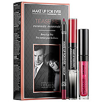 Tease Me Lip Set: Inspired by the movie Fifty Shades of Grey - MAKE UP FOR EVER | Sephora