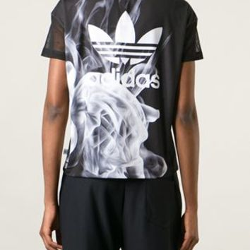 Adidas Originals 'smoke' T-shirt - Eraldo - Farfetch.com