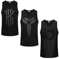 Asian Size Basketball Jerseys Sleeveless Breathable Sports Shirts Outdoor Running Tops GYM Training Sportswear