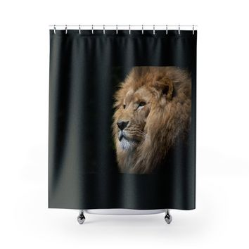Lion Shower Curtains