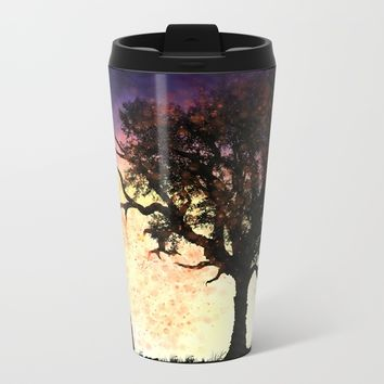 Omen Metal Travel Mug by Moonlit Emporium