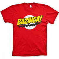 Bazinga shirt from Big bang theory tv series  T-Shirt Unisex Adults