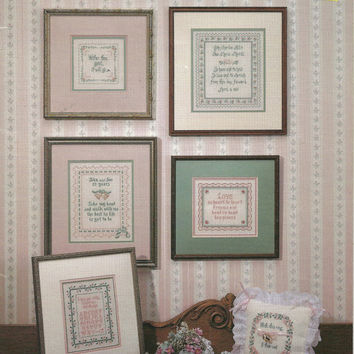 Wedding Anniversary Cross Stitch Charts Booklet by debspatterns55