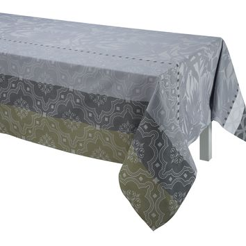 Bahia Grey Table Linen by Le Jacquard Français