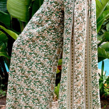 Palazzo Pant In Green India