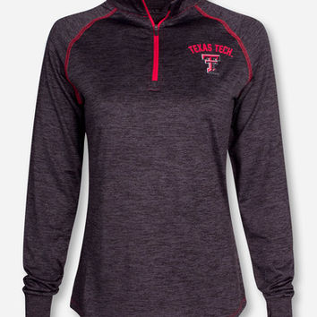 "Arena Texas Tech ""Bikram"" Women's Quarter Zip Pullover"