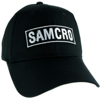 SAMCRO Sons of Anarchy Motorcycle Club Redwood Original Hat Baseball Cap