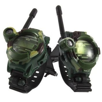 Walkie Talkies for Kids Camping 135 Paintball Camo FRS/GMRS Two-Way Radio Pack of 2