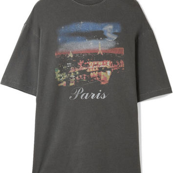 Balenciaga - Oversized printed cotton-jersey T-shirt