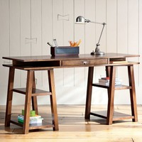 Customize-It Storage Trestle Desk