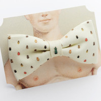 Beetles Clip-On Bow Tie