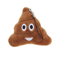 Poop Smiley Emoji Keychain