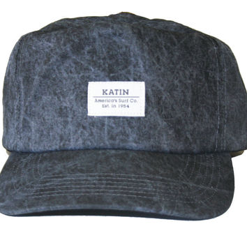 "Katin USA ""Beach Bum"" Cap (Black Wash / Grey)"