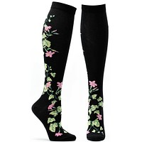 Apothecary Florals Jasmine Knee High Sock
