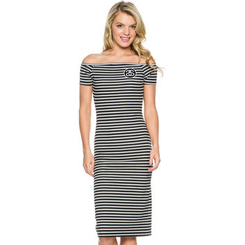 Stussy Womens SS Stripe Bodycon Dress