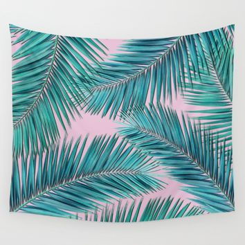 palm tree  Wall Tapestry by mark ashkenazi
