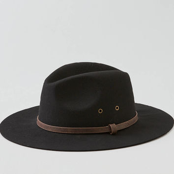 AEO Wool Fedora, Black