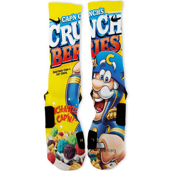 Crunch Berries Captain Crunch Custom Nike Elite Socks