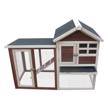 Advantek Stilt House Rabbit Hutch | www.hayneedle.com