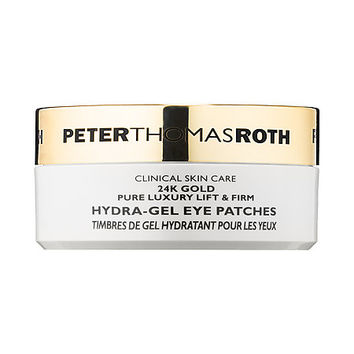 24K Gold Pure Luxury Lift & Firm Hydra-Gel Eye Patches - Peter Thomas Roth | Sephora
