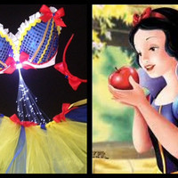 New Snow White  Light Up 3 Piece Set