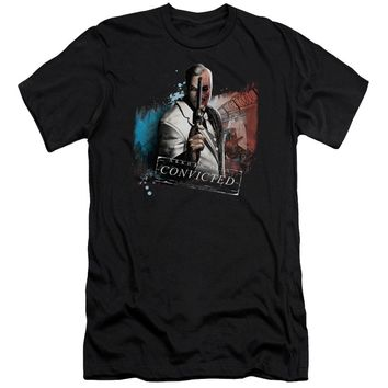 Arkham City - Two Face Premuim Canvas Adult Slim Fit 30/1