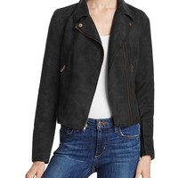 Jack by BB DAKOTAFaux Suede Moto Jacket