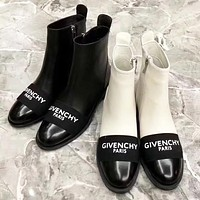 Givenchy high quality new fashion letter print leather keep warm shoes boots women