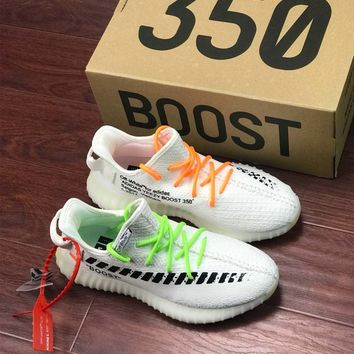Off White x Adidas Yeezy Boost 350 V2 Sneaker