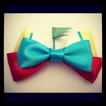 Tweedle Dee Tweedle Dum Alice in wonderland inspired hair bow