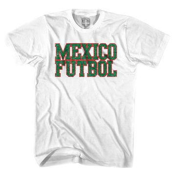 Mexico Futbol Nation Soccer T-shirt