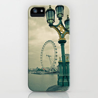 View of the London Eye iPhone Case by Psphotographydublin | Society6