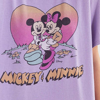 Junk Food Mickey Loves Minnie Tee | Urban Outfitters