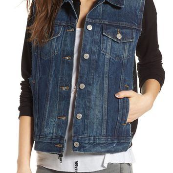Bailey 44 Jacking Mixed Media Jacket | Nordstrom