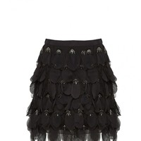 alice + olivia | CODI EMBELLISHED SKIRT