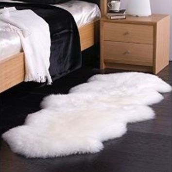 100% Genuine Sheepskin Rug