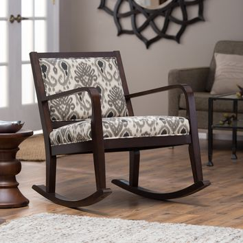 Belham Living Ikat Rocking Chair | www.hayneedle.com