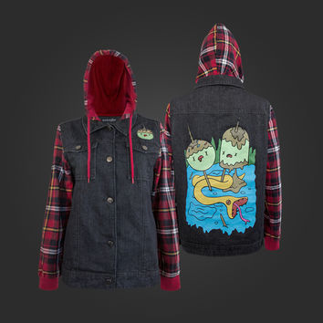 Welovefine:Bubblegum Rocks Flannel Jacket