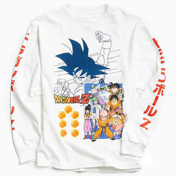 Dragon Ball Z Goku Long Sleeve Tee | Urban Outfitters