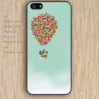 iPhone 5s 6 case up case watercolor dream colorful phone case iphone case,ipod case,samsung galaxy case available plastic rubber case waterproof B535