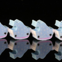 Four Mini Whale Shark Japanese Erasers